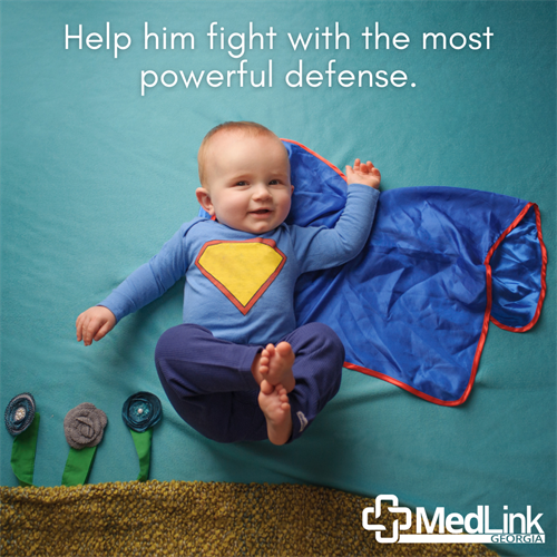 Vaccines defend him against 14 serious childhood diseases, like measles and whooping cough, with the safe, proven protection of vaccines. Giving him the recommended immunizations by age two is the best way to protect him.  Give us call today to schedule vaccinations for your little one to help him stay healthy and strong.  706-521-3113