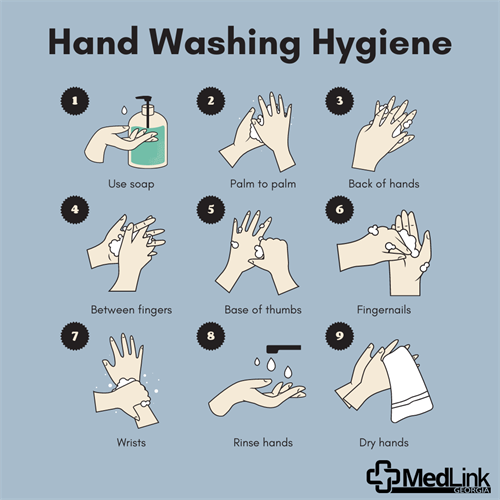 As the world starts opening back up, remember to stay vigilant in preventing the spread of germs by practicing good hand hygiene.  Washing your hands is one of the number one ways you can help keep yourself and others healthy.  Washing your hands for at least 20 seconds, using soap and water, is the most effective way to sanitize your hands.  If soap and water are not available, use an alcohol-based hand sanitizer with at least 60% alcohol.