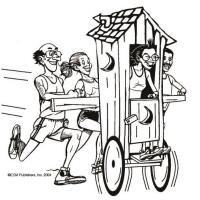 Isanti Outhouse Races