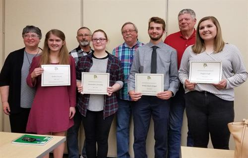 2019 BYR Scholarship winners