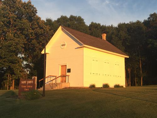 St.John's German Lutheran Church in Bradford Township.