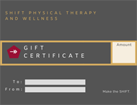 We Now Have Gift Certificates!