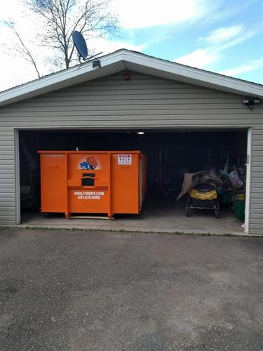 We can even fit inside your garage for extra convenience