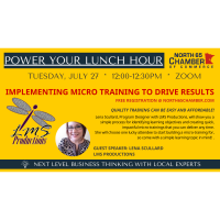 July Power Your Lunch Hour Follow Up