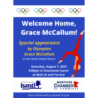 Isanti Welcomes Home Olympic Gymnast Grace McCallum