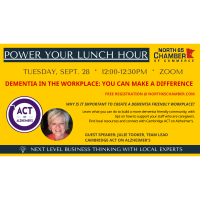 September Power Your Lunch Hour Follow Up