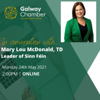 Galway Chamber in conversation with...Mary Lou McDonald TD, Leader of Sinn Féin
