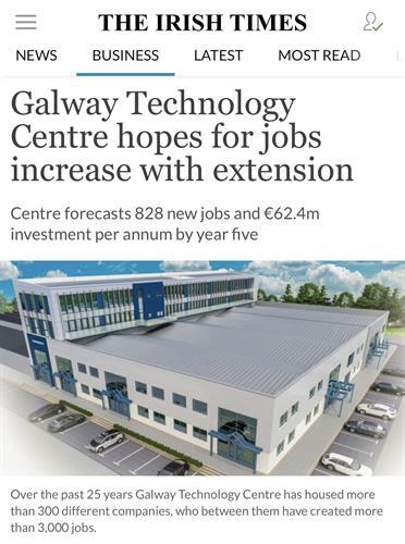 Galway Technology Centre - Irish Times