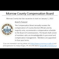 Morrow County Compensation Board Vacancies