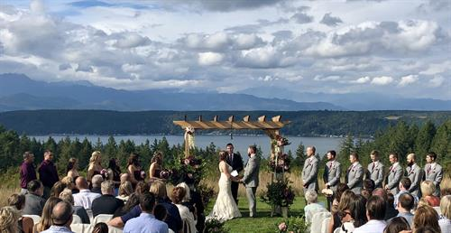 Weddings at AGYC's The Pointe
