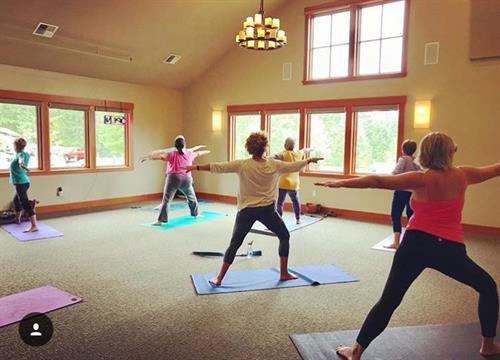 Yoga at the Clubhouse