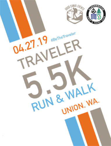 AGYC & Hood Canal Events - Traveler 5.5k logo