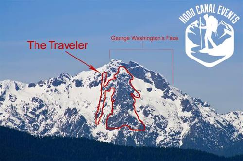 The Traveler on Mt Washington - proud to be a part of HCE's logo