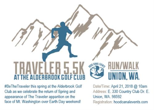 Traveler 5.5k Run/Walk - Every Spring (Earth day weekend)