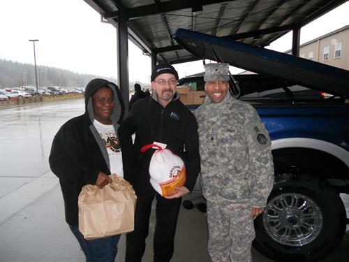 JBLM Turkey Drop, supporting our troops