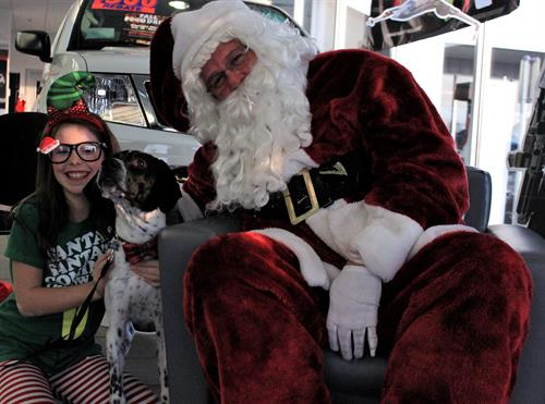 Santa Paws:  We love our pets!