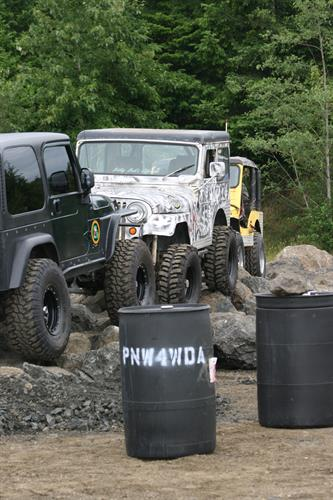 Jeep Jam: off road obstacle training
