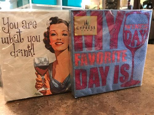 Fun Cocktail Napkins