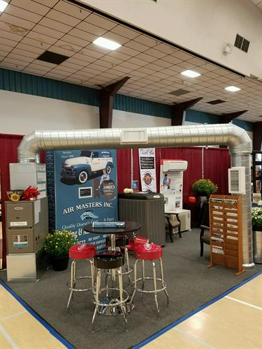 Heating and Air Conditioning display