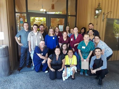 Some of Fir Lane's wonderful employees