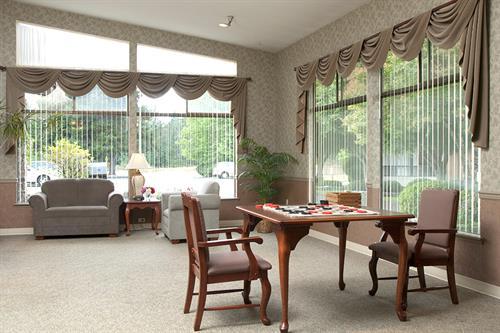 Fir Lane's resident living room