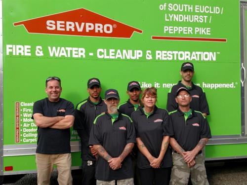 Servpro of Beachwood Crew
