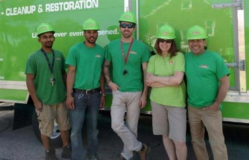 Servpro of Beachwood in the University Heights Memorial Day Parade 2016