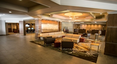 Newly Remodeled Hotel Lobby