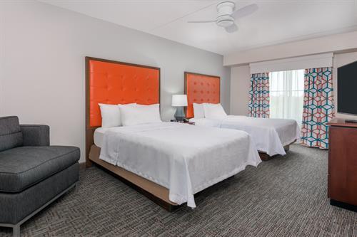 1 Bedroom Suite with 2 Queen Beds