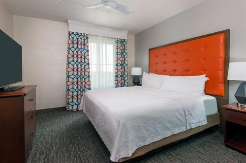 1 Bedroom Suite with 1 King Bed