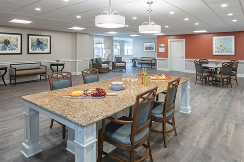 Assisted Living Family Kitchen