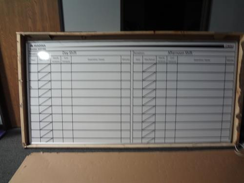 Custom Dry Erase Boards.