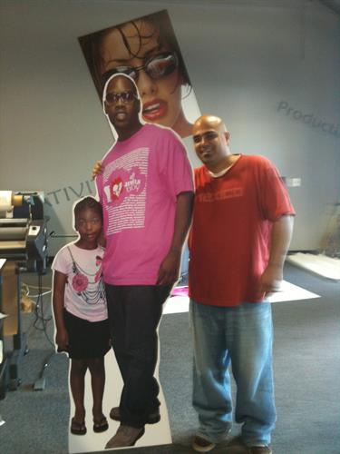 Life size cut outs... OR LARGER THAN LIFE!  YOUR  CHOICE!