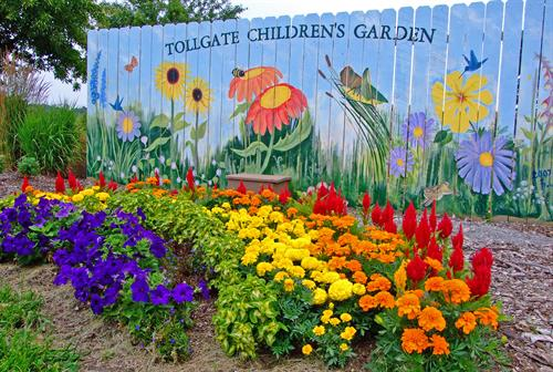 The Tollgate Children's Garden is open for the public to enjoy Monday through Saturday.
