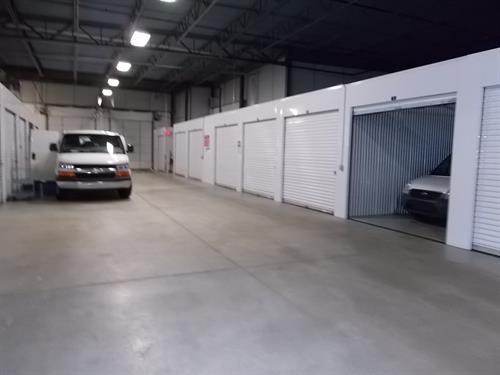 Store cars, household, or business inventory
