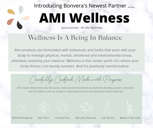 Ami Wellness - 100% natural products to support Women's Health
