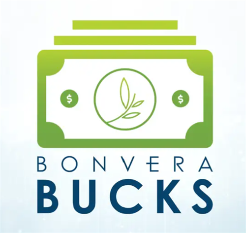Bonvera Bucks - digital gift cards with an avg 5.4% cash back