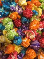 Candy Coated Popcorn Made In Our Store