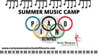 Summer Music Camp; Pianolympics