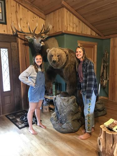 Young college girls enjoying their stay at 4 Bears Bed and Breakfast