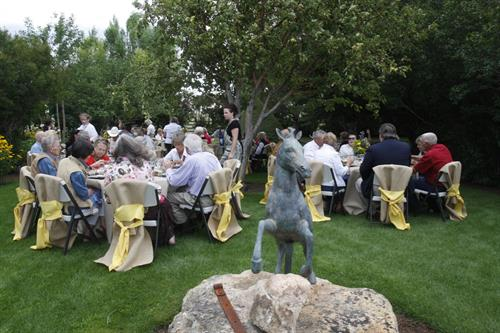 Weddings or birthday parties are perfect in the Garden.