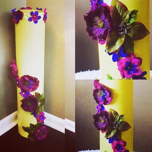 Custom Oversized Handmade Floor Vase