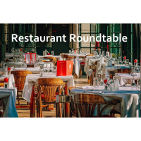 Restaurant Round Table - Zoom