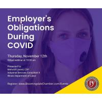 Employer Obligations During COVID