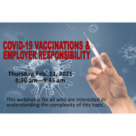COVID-19 Vaccinations & Employer Responsibility Recording
