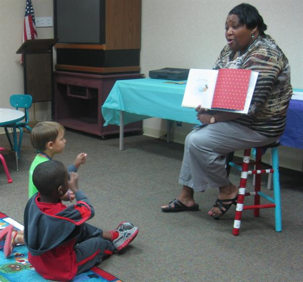 Read Aloud with Ms. Shantelle