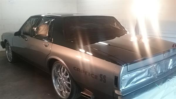 After photo of 87 Caprice custom work