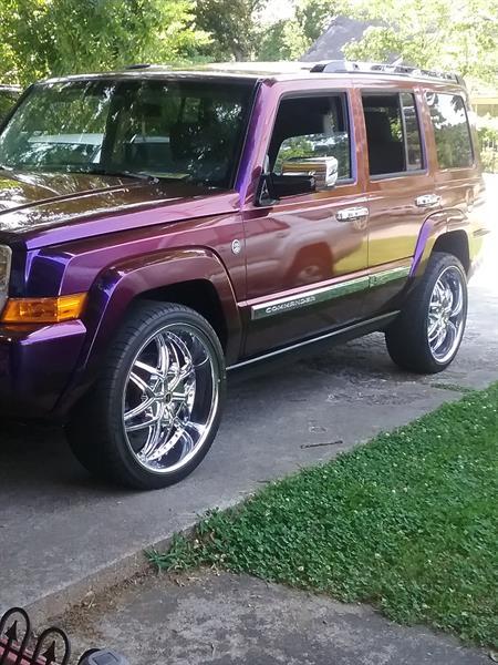 2006 Jeep Commander custom paint
