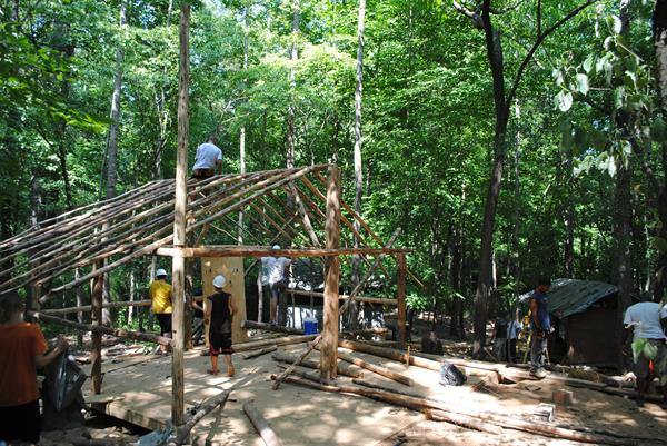 Wilderness Cabin Construction