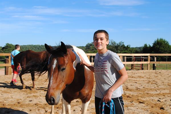 Boys Equine Therapy